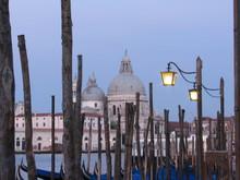 Wooden Posts Against Santa Maria Della Salute