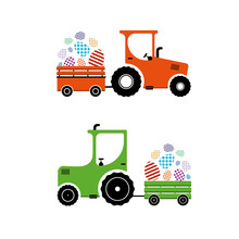 Vector Illustration, Tractor C...