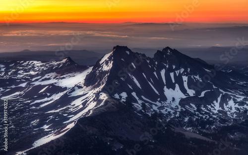 Summit Sunrise - Oregon Mountains- Oregon