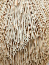 Full Frame Shot Of Thatched Roof
