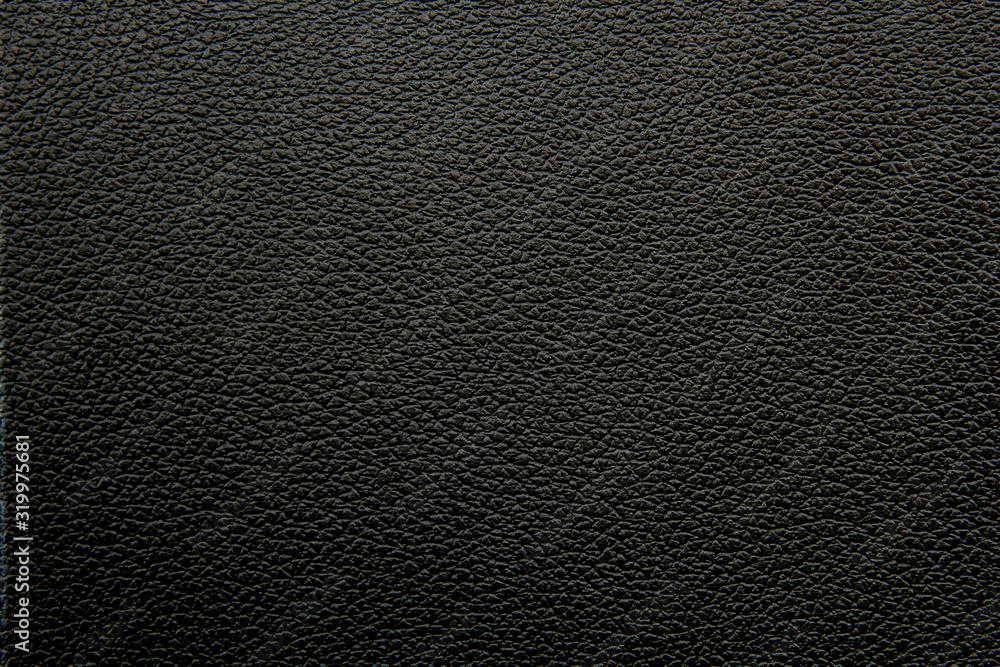 Fototapeta black leather texture background