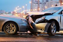Automobile Crash Accident On S...