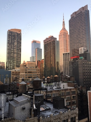 Fototapety, obrazy: VIEW OF CITYSCAPE AGAINST CLEAR SKY