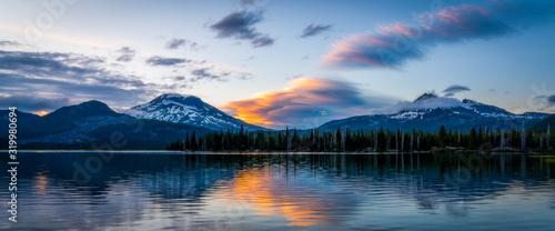 Colorful Mountain Sunset - Oregon - 319980694