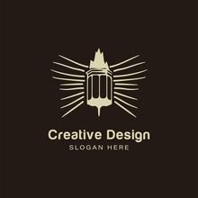 Lanterns Lamp Logo Ideas. Insp...