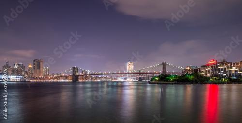 Fotografie, Obraz Brooklyn Bridge in New York City