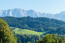 Landschaft Bayerische Alpen