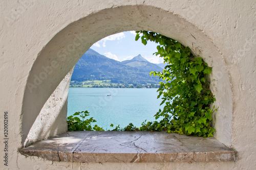 view from the window Fototapeta