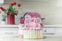 Beautiful Festive Cake Biscuit...