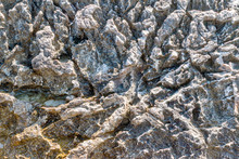 Abstract Texture Of Coastal Cl...