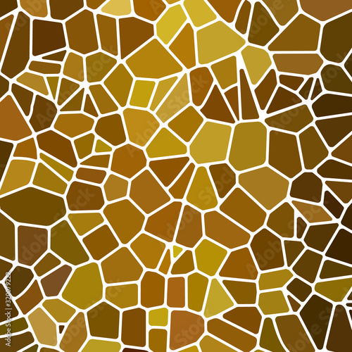 Fotomural abstract vector stained-glass mosaic background
