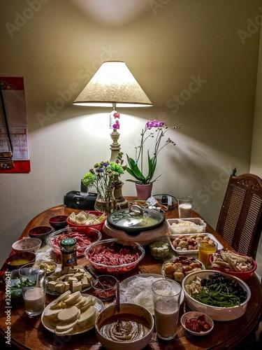 Fotografija table prepared for feast