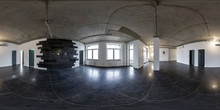 Empty Room Without Furniture. ...