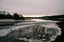 Bogstadvannet In Ice