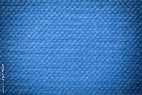 Fotografija blue embossed textured background with vignette