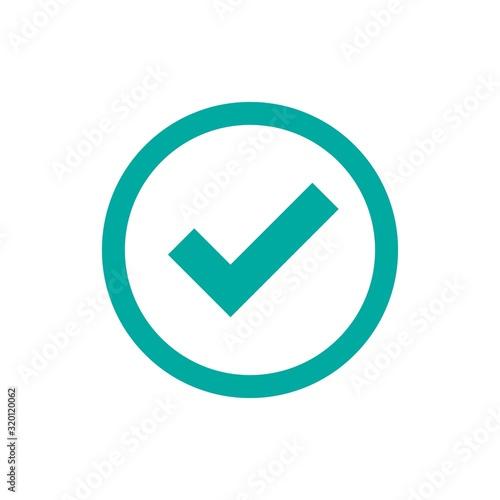 Fotomural Check Mark