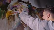 Artist Designer Draws An Eagle...