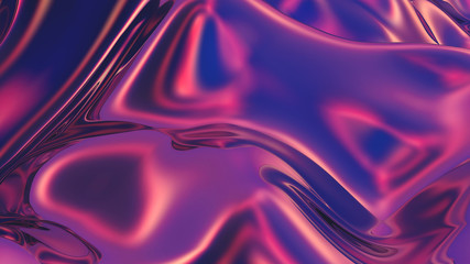 Abstract digital background with smooth gradients in trendy colors