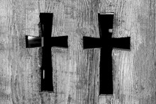 Two Christian Orthodox Crosses...