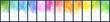 Big bundle set of light colorful vector watercolor vertical backgrounds for poster, banner or flyer