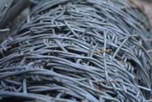 CLOSE UP OF Wire