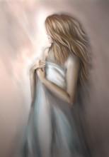Mädchen Malerei