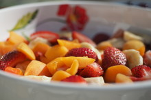 Chopped Fruits In Bowl