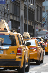 two taxis new york