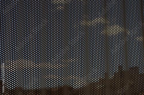 Fotografija Full frame shot of perforated metal