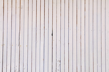 Full Frame Shot Of White Wooden Wall