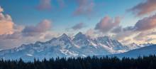 Twin Sisters Mountain Range In...
