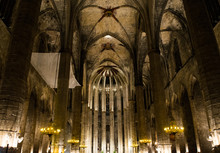 Interior Of St Vitus Cathedral...