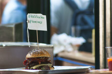 Burger For Sale In Store
