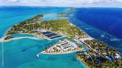Aerial View Of Island - fototapety na wymiar