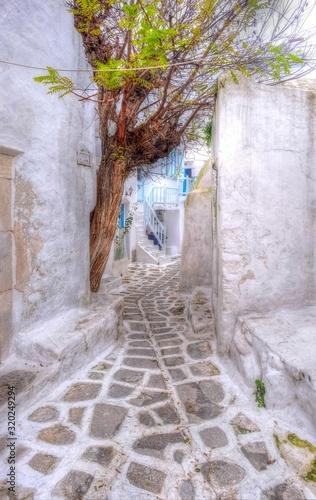 Photo ミコノス島の風景