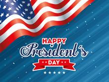 Flag Design, Usa Happy Preside...