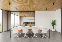 Panoramic White Meeting Room I...