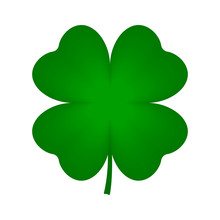 Four Leaf Clover Icon. Vector.