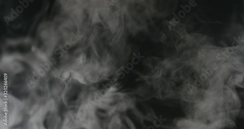 white vapor or smoke overlay fx Canvas Print