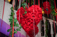 A Heart Of Roses That Hangs In...