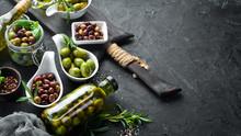 Olives A Set Of Colored Olives...