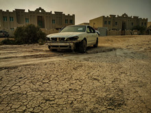 Desert Relic/Old Car Rusting A...