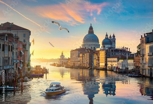 Obraz Wenecja, wschód słońca, Włochy - fototapety do salonu