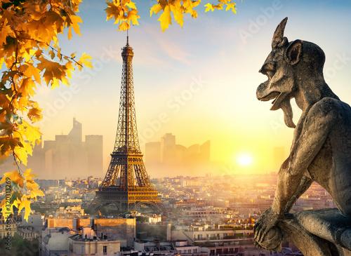 obraz lub plakat Chimera in Paris