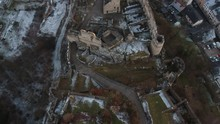 Larochette Castle Ruins During...