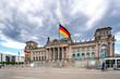 Leinwandbild Motiv Reichstag Berlin, Deutschland