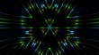 Neon beams and lights morphing slowly creating a background of light and magic, for VJ or general background use.