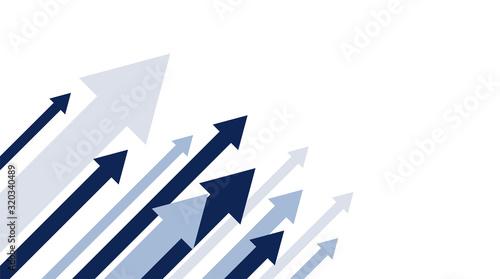 sfondo, frecce, freccia, aumento, salita, dinamico Wallpaper Mural