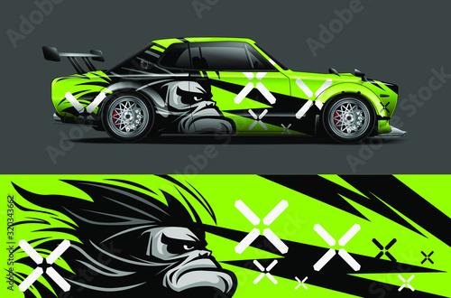 Foto Car decal design vector