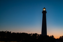 The Cape May Lighthouse At Sunset